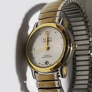 Vintage KATHY IRELAND Gold and Silver Watch Ladies